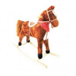 Toys-shop D.I B/O Κουνιστό ξύλινο αλογάκι με ήχους αλόγου JB049989 6990416499892