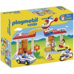 Playmobil 1·2·3 Αστυνομία και παιδιατρείο 5046 4008789050465