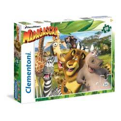 Clementoni Παζλ 60Τεμ Super Color Μαδαγασκαρη 1200-26944 8005125269440