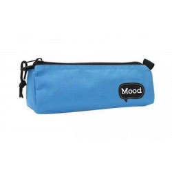 Keyroad School Pencil Case Blue With Zipper Mood Chrome 0072665 5205698115547