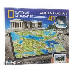 GIOCHI PREZIOSI Παζλ 4D Civilizations Ελλάδα - 600 Κομμάτια 61002 714832610022