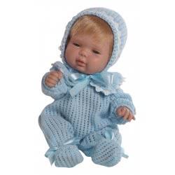 berjuan Ισπανικές Κούκλες 30Εκ BABY SMILE PIJAMA LANA AZUL ΣΙΕΛ 0485 8421560004857