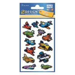 ZDesign Ζ Design Αυτοκολλητα Kids Αεροπλάνα 53177 4004182531778