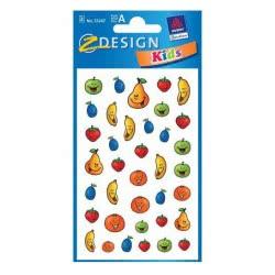 ZDesign Ζ Design Αυτοκόλλητα Creative Φατσούλες Φρουτάκια 53247 4004182532478