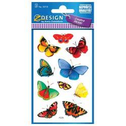 ZDesign Ζ Design Αυτοκόλλητα Creative Πεταλούδες 55710 4004182557105