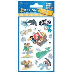 ZDesign Ζ Design Αυτοκόλλητα Kids Πειρατικά 56067 4004182560679