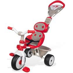 Smoby Pico Τρίκυκλο Ποδηλατάκι Baby Driver V Confort Με Τέντα Κόκκινο 434208 3032164342082