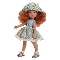 berjuan Ισπανικές Κούκλες 35Εκ FASHION GIRL VESTIDO TRAJE AZUL 0840 8421560008404