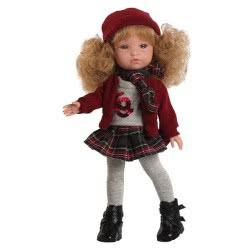 berjuan Ισπανικές Κούκλες 35Εκ FASHION GIRL GORRO LANA 0843 8421560008435