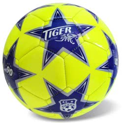 star Μπάλα Ποδοσφαίρου Tiger Pro Κίτρινο-Μπλε 35-734 5202522007344