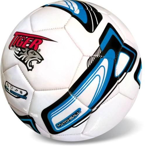 star Μπάλα Ποδοσφαίρου Tiger Λευκή - Μπλε 35-758 5202522007580