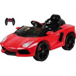 MG TOYS Μπαταριοκίνητο Lamborghini Race Car 12V R/C Red Τηλεκατευθυνόμενο 412176 5204275121766