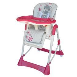 Bebe Stars Καρέκλα φαγητού Prince - Χρώμα Ροζ 871-185 5213002342169