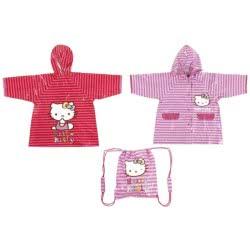 Sanrio Αδιάβροχο Hello Kitty Stripes Σε Σάκο 17124 8424159171244