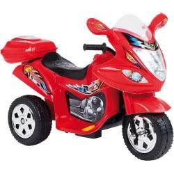 MG TOYS Μπαταριοκίνητη Mini Motorcycle 6V Κόκκινη Για Παιδιά 412177 5204275121773