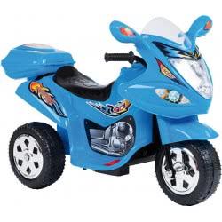 MG TOYS Μπαταριοκίνητη Mini Motorcycle 6V Μπλε Για Παιδιά 412178 5204275121780