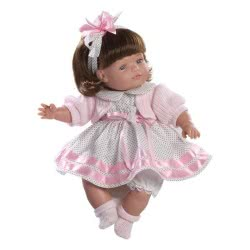 berjuan Ισπανικές Κούκλες 38Εκ CLAUDIA MORENA VESTIDO PUNTOS 0771 8421560007711