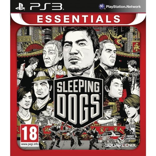 SQUARE ENIX Ps3 Sleeping Dogs Essentials 5021290055926 5021290055926