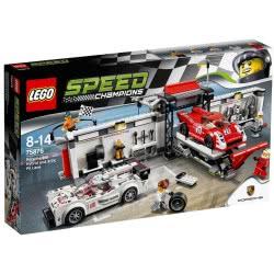 LEGO Speed Champions Porsche 919 Hybrid και 917K Pit Lane 75876 5702015591249