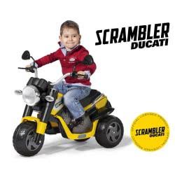 Peg-Perego Toys Peg-Perego Ducati Scrambler 6V Μπαταριοκίνητο Μηχανάκι ED0920 8005475370841