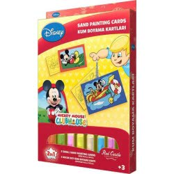 Red Castle Sand Painting Cards Ζωγραφίζω Με Άμμο Mickey Mouse DS02 8699296253256