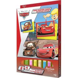 Red Castle Sand Painting Cards Ζωγραφίζω Με Άμμο Disney Cars Μακουήν Και Μπάρμπας DS05 8699296253287