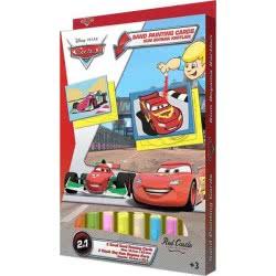 Red Castle Sand Painting Cards Ζωγραφίζω με άμμο Disney Cars Μακουήν και Φραντζέσκο DS06 8699296253294