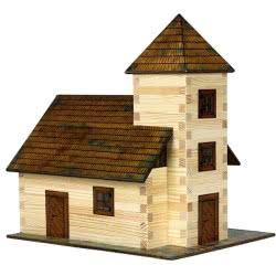 WALACHIA Κατασκευές Ξύλινα Σπιτάκια 3D Church 213Τεμ 23 X 16 X 24 Εκ Nr.12 8594036430129