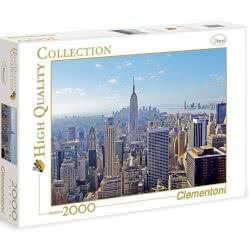 Clementoni Παζλ 2000τεμ. High Quality New York 1220-32544 8005125325443