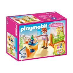 Playmobil Baby Room With Cradle 5304 4008789053046
