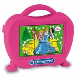 Clementoni Παζλ Κύβοι 6τεμ Disney Princess 1100-40650 8005125406500