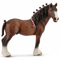 Schleich Άλογο Κτένιςμενο Clydesdale SC13808 4005086138087