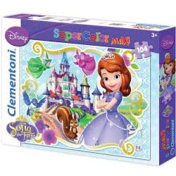 Clementoni Παζλ 104τεμ. Maxi Super Color Sofia the first 1210-23651 8005125236510