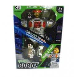 Toys-shop D.I B/O Robot Ρομπότ μπαταρίας JB049861 6990416498611
