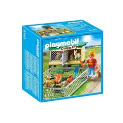 Playmobil Rabbit Pen with Hutch 6140 4008789061409