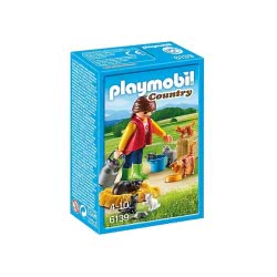 Playmobil Αγρότισσα και γατάκια 6139 4008789061393