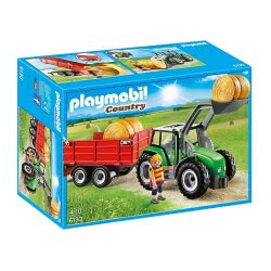 Playmobil Μεγάλο Τρακτέρ Με Καρότσα 6130 4008789061300