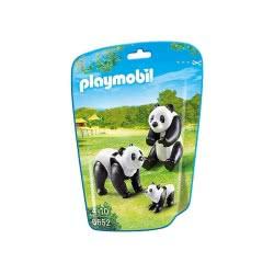 Playmobil Panda Family 6652 4008789066527