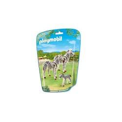 Playmobil Οικογένεια Από Ζέβρες 6641 4008789066411