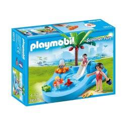 Playmobil Πισίνα Για Μωρά Με Τσουλήθρα 6673 4008789066732