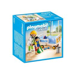 Playmobil Doctor With Child 6661 4008789066619