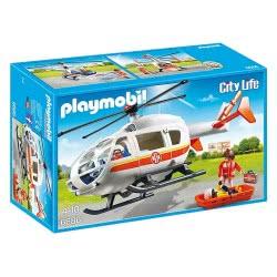 Playmobil Ελικόπτερο πρώτων βοηθειών 6686 4008789066862