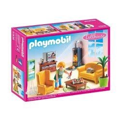 Playmobil Living Room With Fireplace 5308 4008789053084