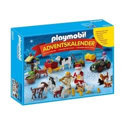 Playmobil Χριστουγεννιάτικο Ημερολόγιο Χριστούγεννα Στη Φάρμα 6624 4008789066244