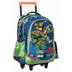 GIM Σακίδιο Δημοτικού Trolley Ninja Power 334-07074 5204549093553