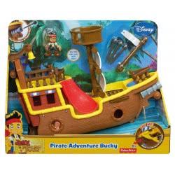 Fisher-Price Jake - Μεγάλο Πειρατικό Καράβι BDH86 746775302559