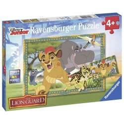 Ravensburger Παζλ 2Χ24 Τμχ Lion Guard 05-09104 4005556091041