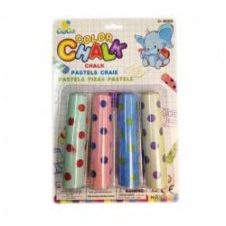 Toys-shop D.I Κιμωλίες Γίγας χρωματιστές πουά σε 4 χρώματα JK073598 6990416735983