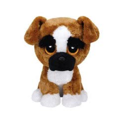 ty Beanie Boos Χνουδωτό Σκύλος Μπόξερ 23 Εκ. 1607-37053 008421370535