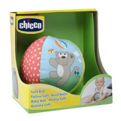 Chicco Μπαλίτσα soft μαλακή Y03-05835 8058664007387
